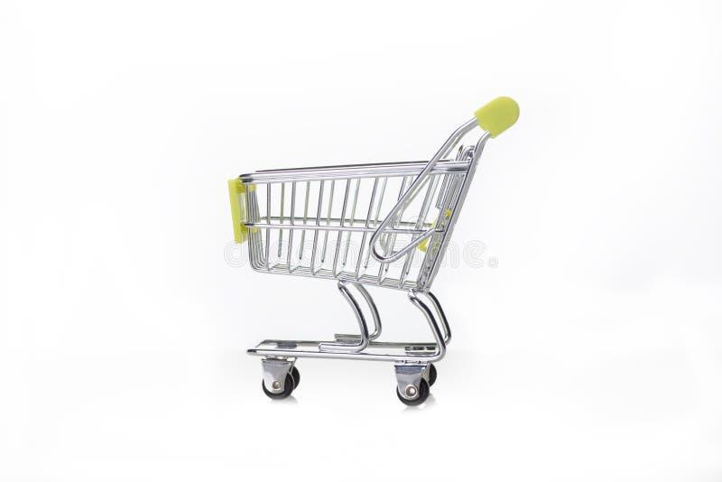 Supermarketów tramwaje obraz stock