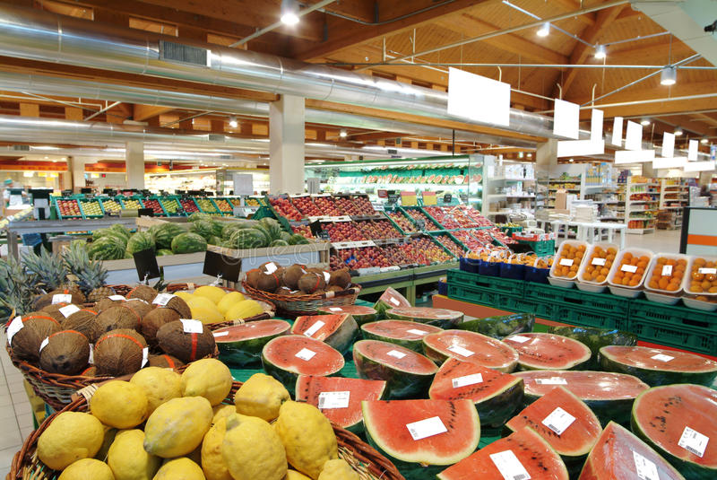 supermarket zdjęcie stock