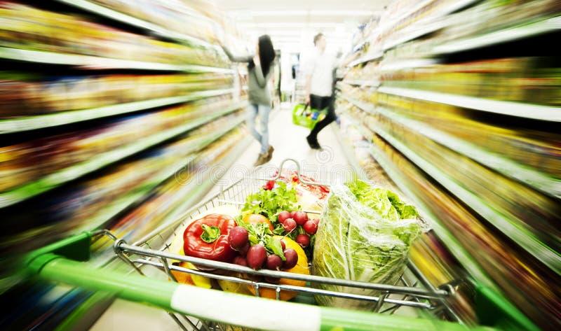 Supermarket obraz royalty free