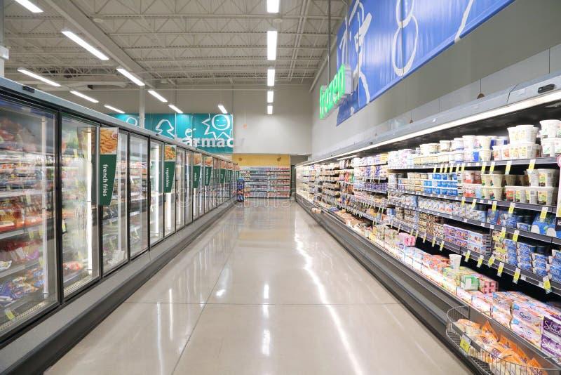 Supermarket royaltyfri foto