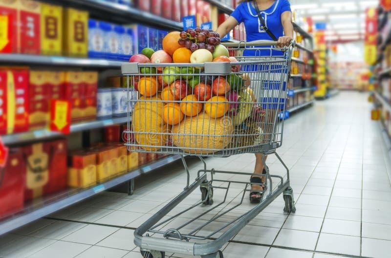 supermarket arkivfoto
