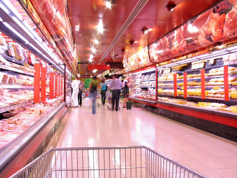Download At the supermarket stock photo. Image of supermarket, sale - 6430134