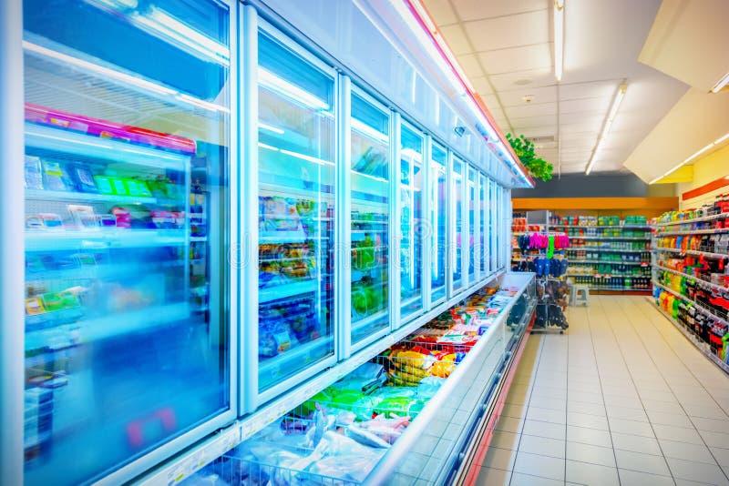supermarket arkivfoton