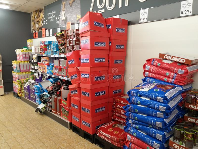 supermarket fotos de stock royalty free