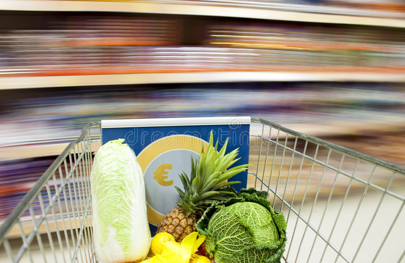 In The Supermarket Royalty Free Stock Images