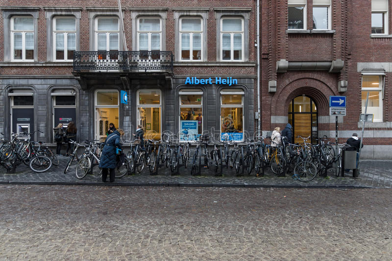 A supermarket Albert Heijn royalty free stock images