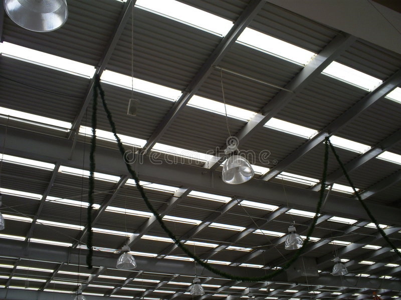 Supermarket Ceiling Royalty Free Stock Images