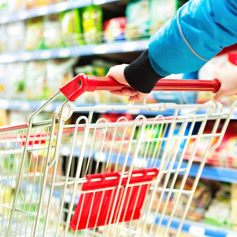 Supermarket fura zdjęcie stock