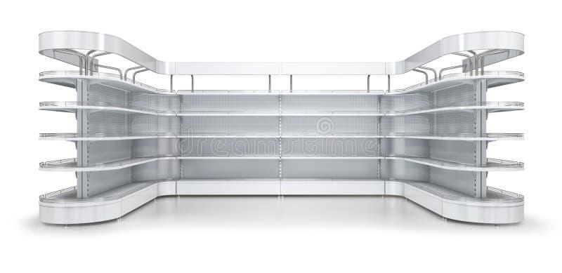 Supermarket p??ki z reklamowym numer jeden zdjęcia stock