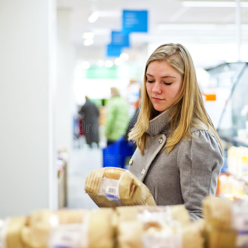 Supermarket selection stock photography