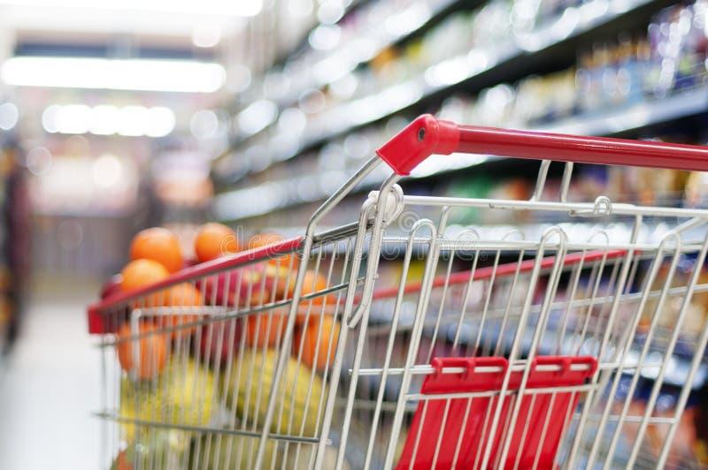 Supermarketinre arkivbilder