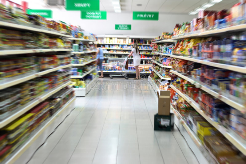 Supermarkt lizenzfreie stockfotografie