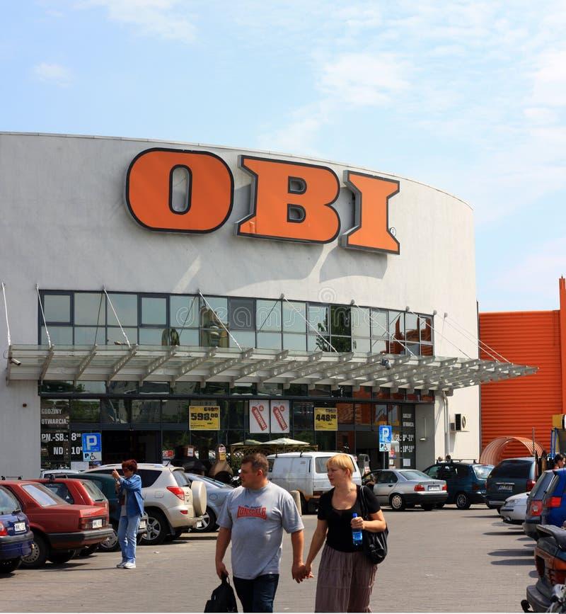 Supermarkt Obi royalty-vrije stock afbeelding