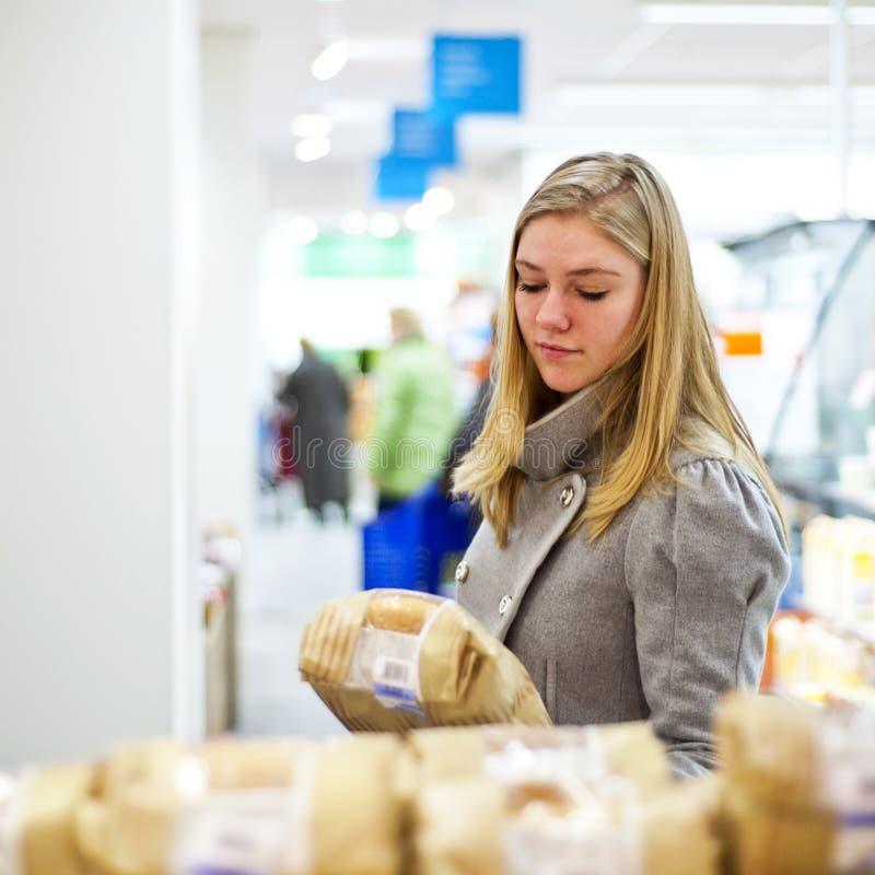 Supermarktauswahl stockfotografie