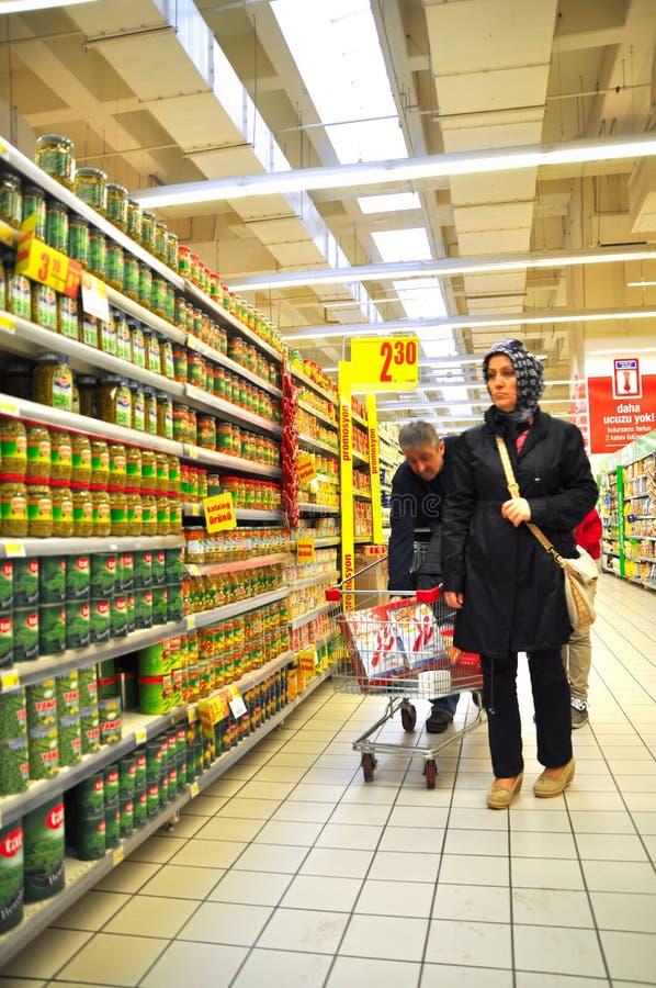 Supermercado imágenes de archivo libres de regalías
