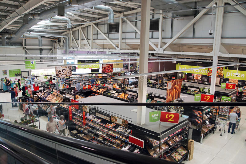 supermercado fotografía de archivo