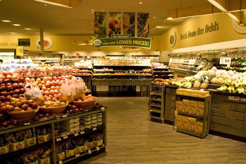 Supermercado del colmado imagenes de archivo