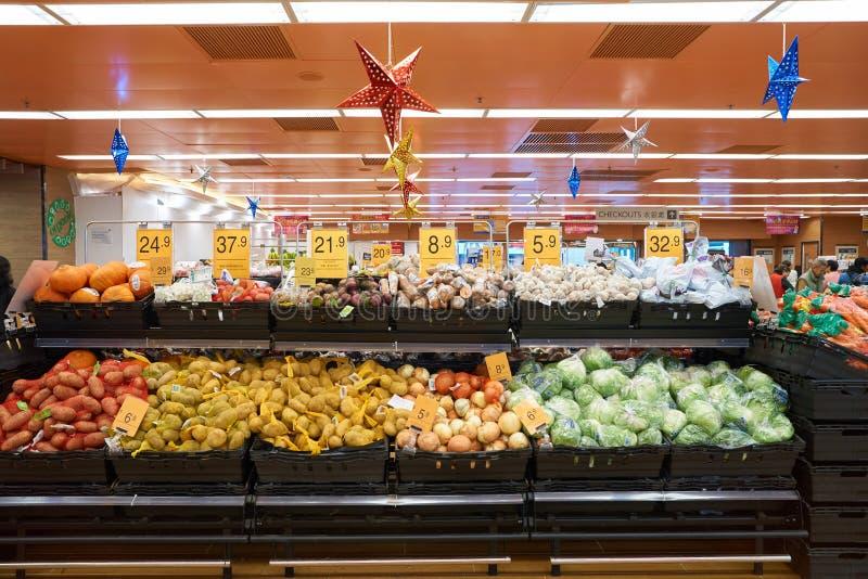 Supermercado do gosto fotografia de stock