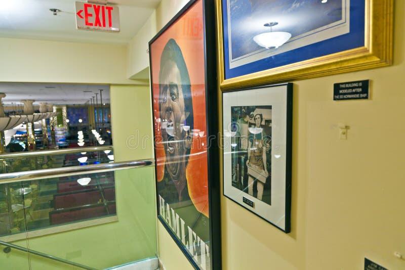 Supermercado fino interno de Jerrys em Miami sul fotos de stock royalty free