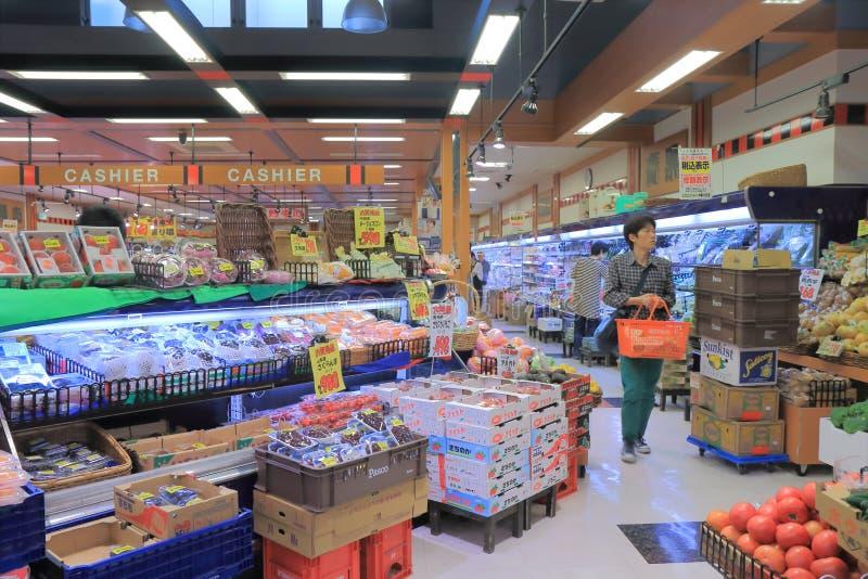 Supermercado japonês imagem de stock royalty free