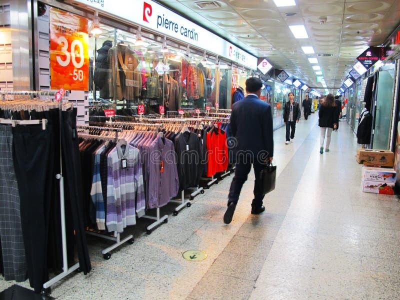 Supermercados da roupa fotos de stock royalty free