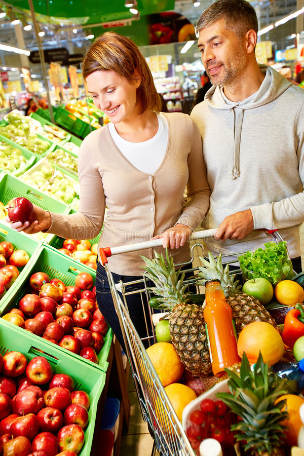 In supermercato immagine stock libera da diritti