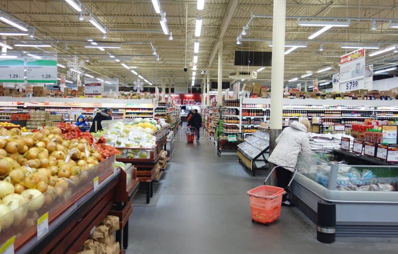 Supermercato asiatico immagini stock