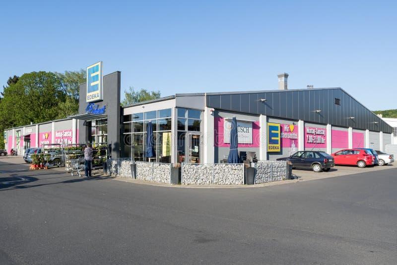 Supermercato di Edeka fotografia stock