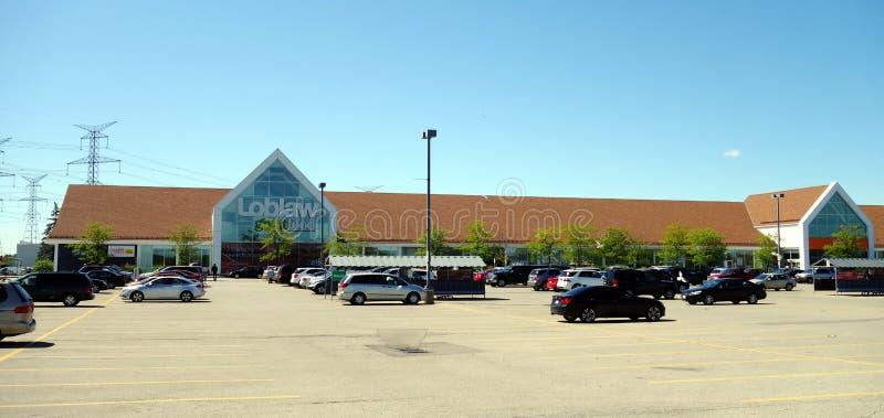 Supermercato di Loblaw immagine stock libera da diritti