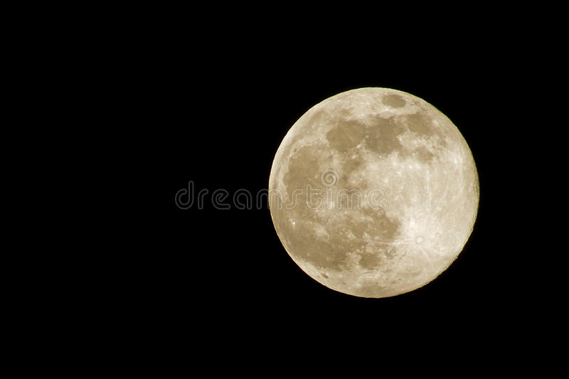 Supermond lizenzfreie stockfotos