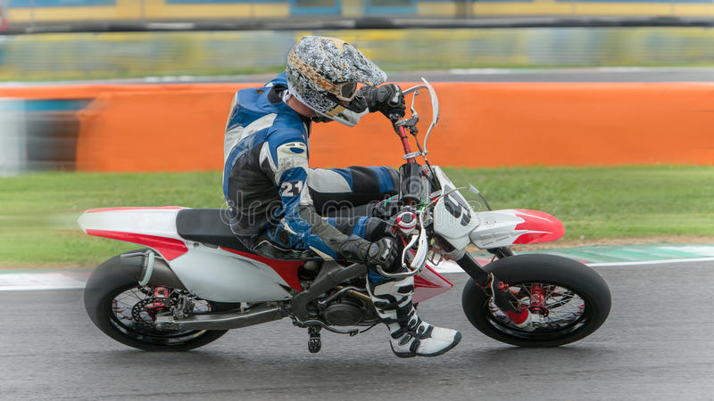 Download Supermotard stock image. Image of race, tires, bike, competition - 33717413