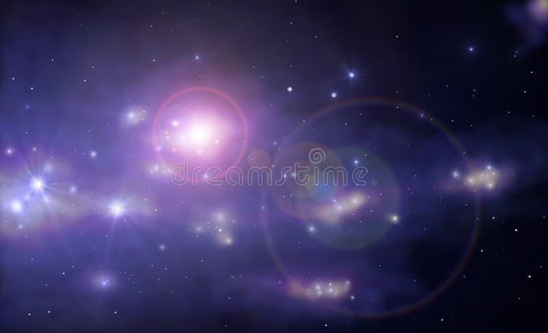 Supernova illustration de vecteur