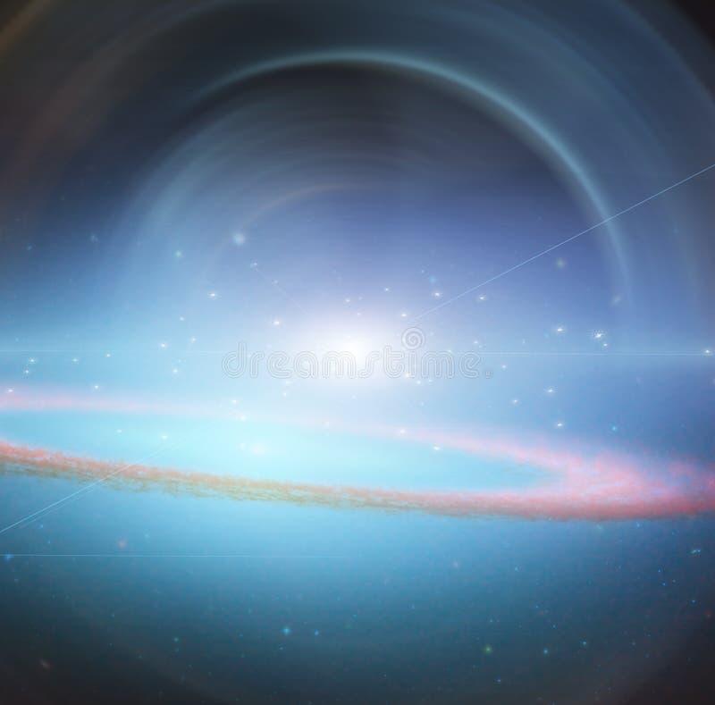 supernova illustrazione vettoriale
