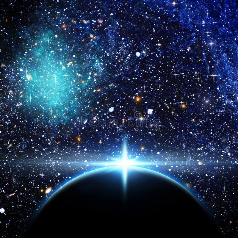 Supernova. stockfoto