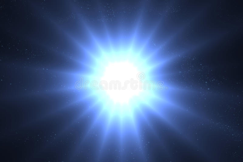 supernova ilustração do vetor