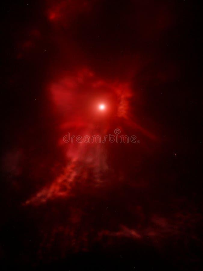 supernova royaltyfri illustrationer
