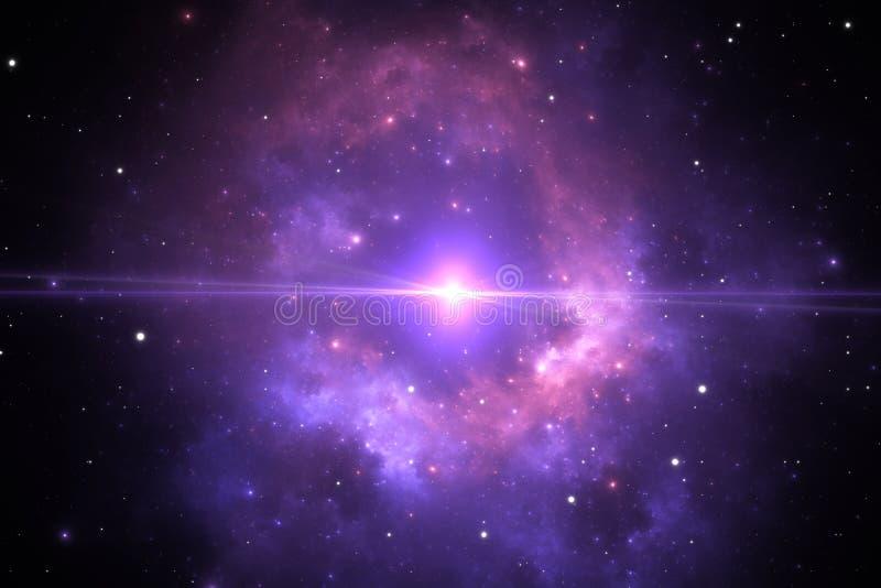 supernova Collasso gravitazionale, esplosione stellare spettacolare royalty illustrazione gratis