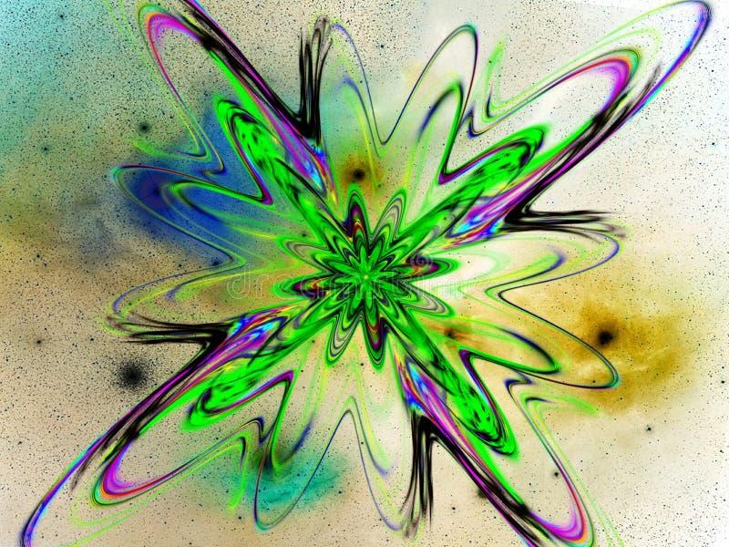 Supernova II ilustración del vector