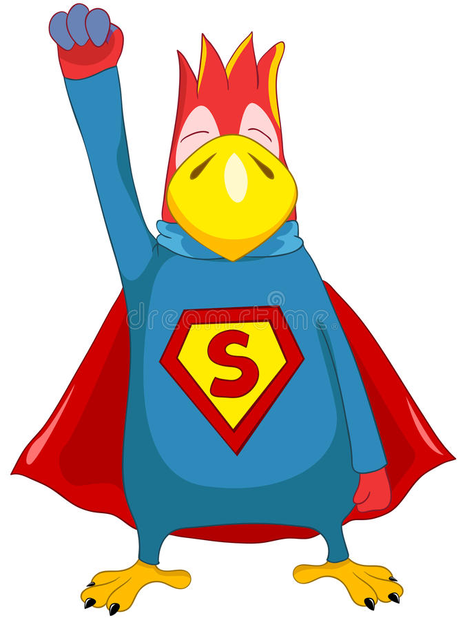 Free Superparrot. Stock Photos - 25354593