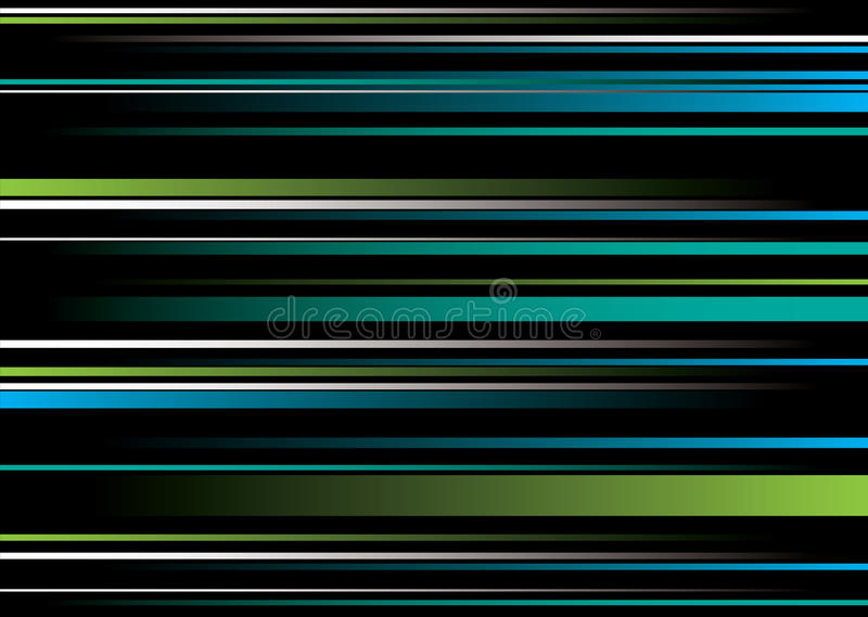 Superposition vert-bleu de bande illustration de vecteur