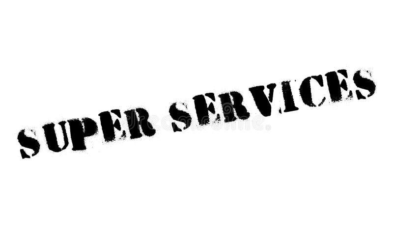 Superservice-Stempel lizenzfreies stockfoto