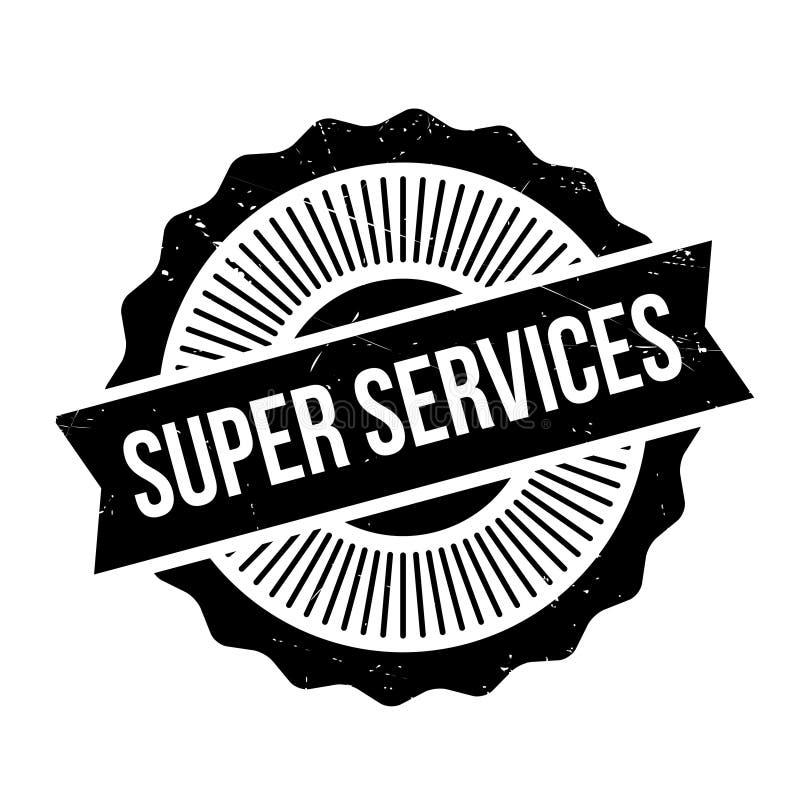 Superservice-Stempel stockbilder