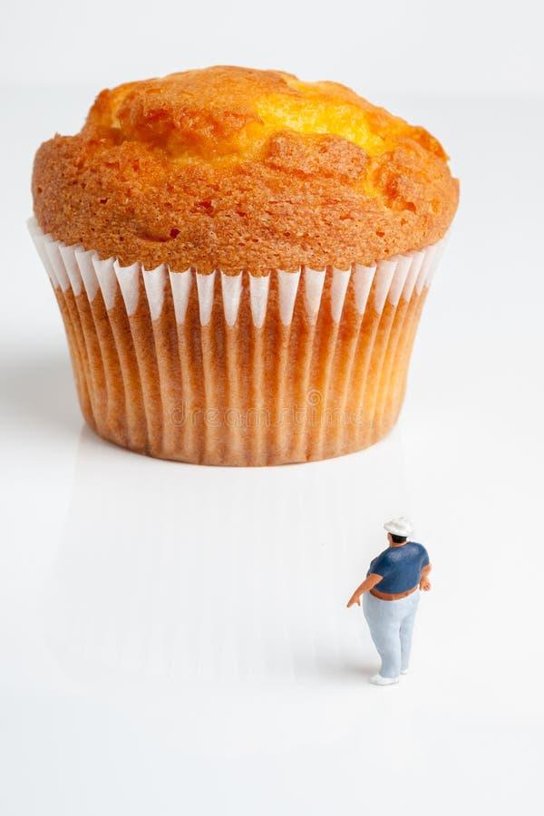 Supersize булочка стоковое изображение