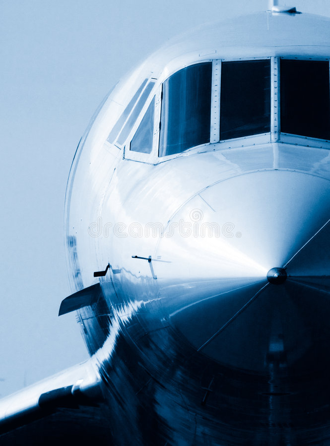 Supersonic Nose royalty free stock photos