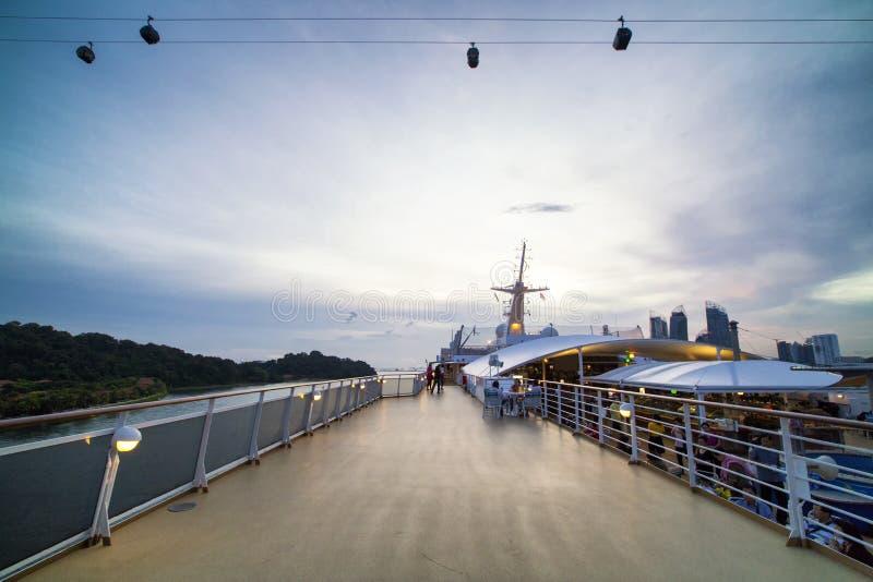 Superstar Gemini Cruise Ship fotografia stock libera da diritti
