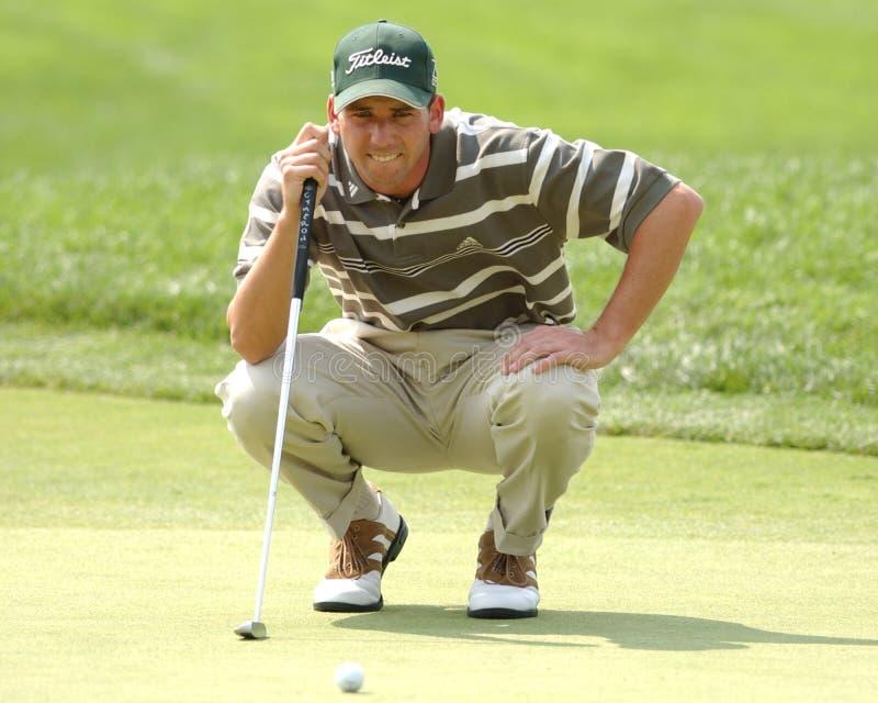 Superstar Sergio Garcia de golf de PGA image stock