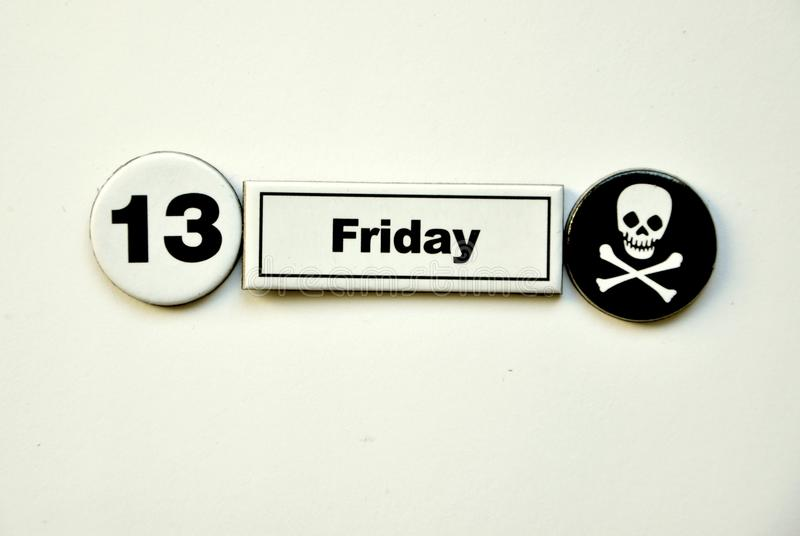 Download Superstition Concept : Friday 13th Stock Image - Image: 23360499