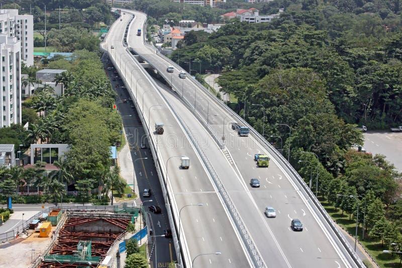 Superstrada non di punta immagini stock libere da diritti