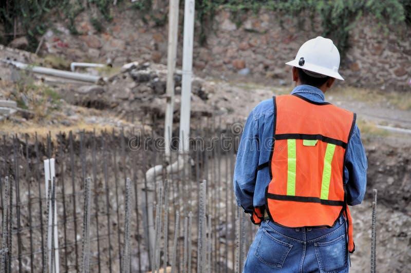 Superviseur de construction image libre de droits