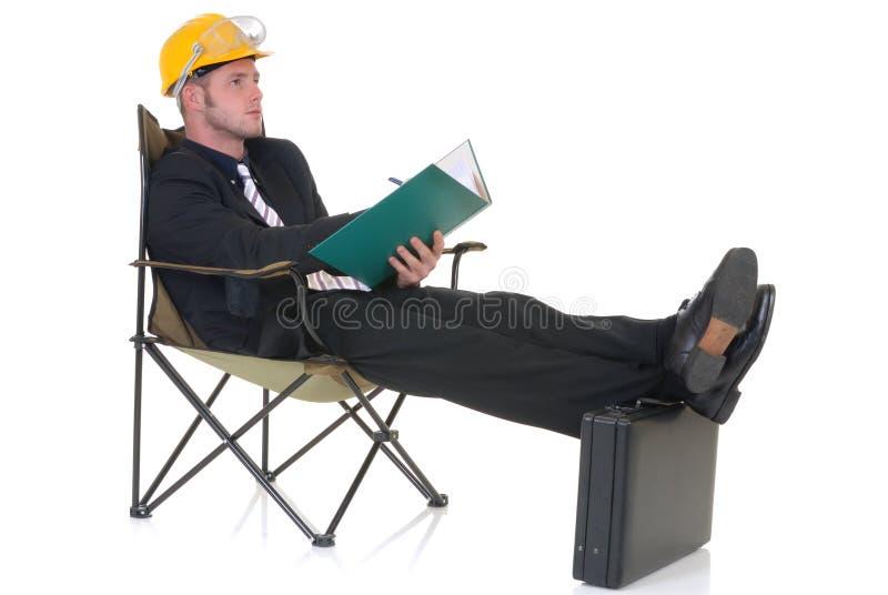 superviseur de construction photographie stock libre de droits